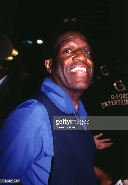 Nipsey Russell during Celebritys at Club USA 1993 at Club USA in New York City New York United States
