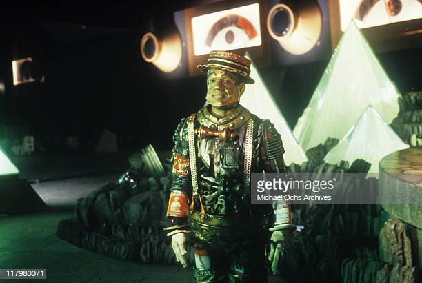 Nipsey Russell plays the Tin Man in a scene from the film 'The Wiz' 1978