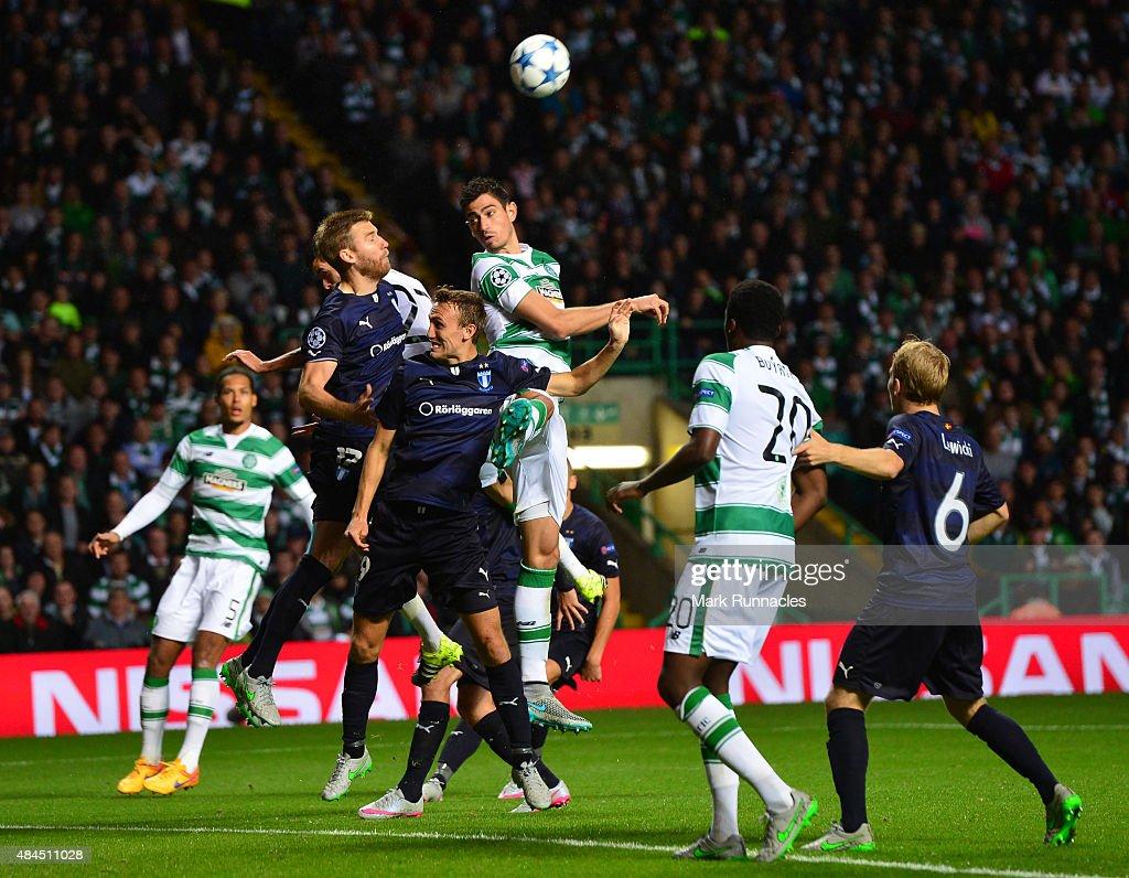 Celtic v Malmo FF - UEFA Champions League: Qualifying Round Play Off First Leg : News Photo
