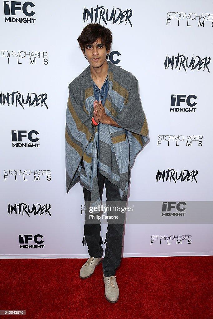 Nirav Mehta attends the premiere of IFC Midnight's 'Intruder' at Regency Bruin Theater on June 15, 2016 in Westwood, California.