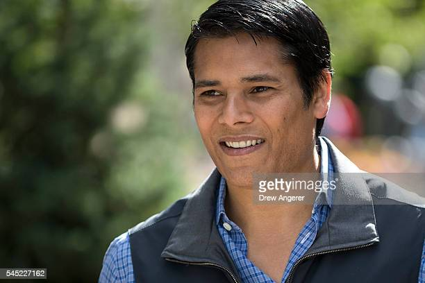 Nirav Tolia chief executive officer of Nextdoor attends the annual Allen Company Sun Valley Conference July 6 2016 in Sun Valley Idaho Every July...