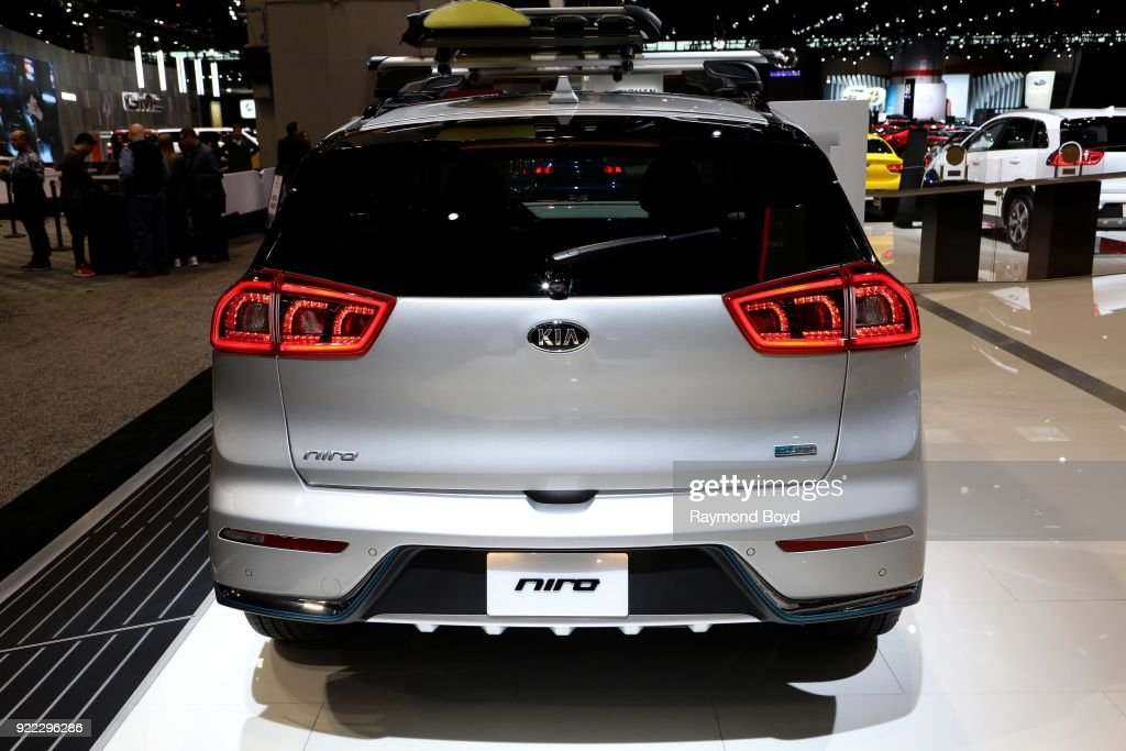 Niro is on display at the 110th Annual Chicago Auto Show at McCormick Place in Chicago, Illinois on February 9, 2018.
