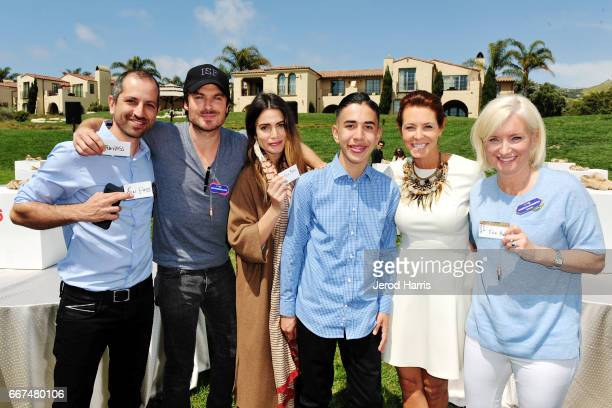 Nirvan Mullick Ian Somerhalder Nikki Reed Caine Monroy Stephanie Ruhle and Carolyn Everson attend the 2017 PTTOW Summit Love Courage at Terranea...