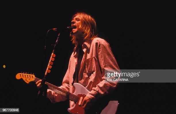 Nirvana en concert le 15 février 1984 à Toulon France