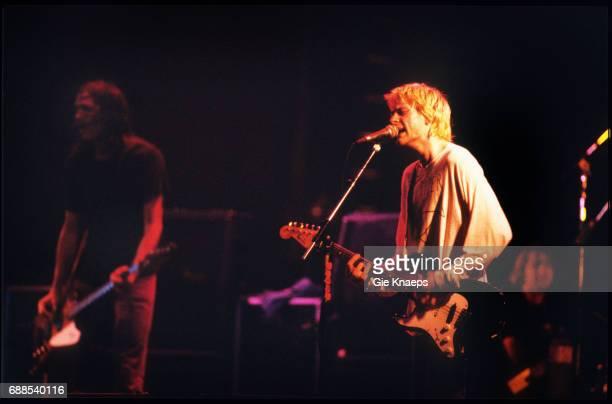 Nirvana, Kurt Cobain, Krist Novoselic, Dave Grohl, Le Zenith, Paris, France, .