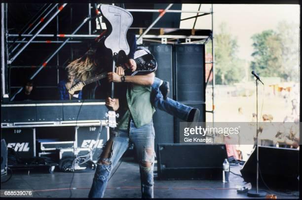 Nirvana Kurt Cobain Krist Novoselic Pukkelpop Festival Hasselt Belgium