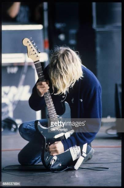 Nirvana Kurt Cobain Pukkelpop Festival Hasselt Belgium