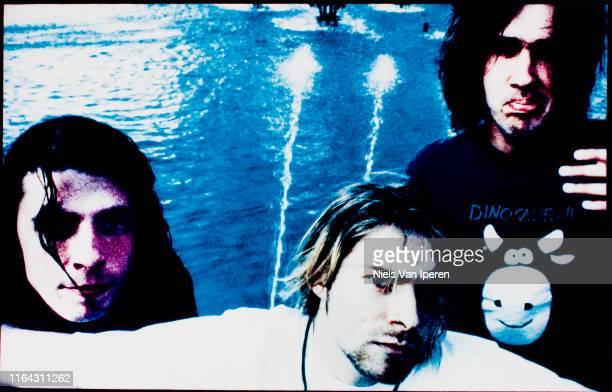 Nirvana, portrait, Wien, Rotterdam, Netherlands, 31st August 1991.