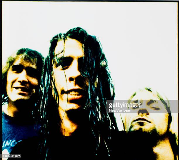 Nirvana, portrait, Wien, Rotterdam, Netherlands, 31st August 1991.