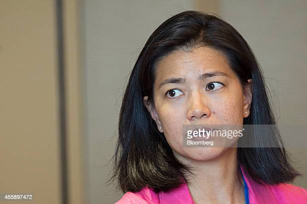 Nisa Leung managing partner at Qiming Ventures Partners speaks at the Milken Institute Asia Summit in Singapore on Friday Sept 19 2014 Chief...