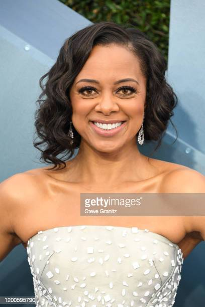 Nischelle Turner attends the 26th Annual Screen ActorsGuild Awards at The Shrine Auditorium on January 19 2020 in Los Angeles California