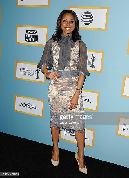 Nischelle Turner attends the Essence 9th annual Black Women In Hollywood event at the Beverly Wilshire Four Seasons Hotel on February 25 2016 in...