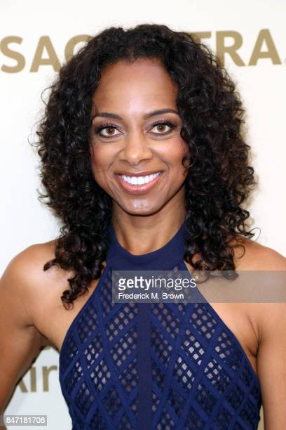 Nischelle Turner attends The Hollywood Reporter and SAGAFTRA Inaugural Emmy Nominees Night presented by American Airlines Breguet and Dacor at the...