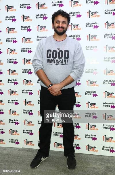 Nish Kumar attends Absolute Radio Live in suppoer of Stand Up To Cancer at London Palladium on November 24 2018 in London England