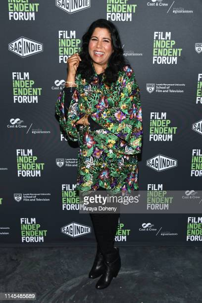 Nisha Ganatra attends day 2 of the Film Independent Forum at LMU Playa Vista Campus on April 27 2019 in Playa Vista California