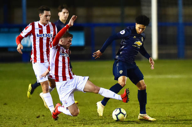 GBR: Stoke City v Manchester United - Premier League 2 Division Two