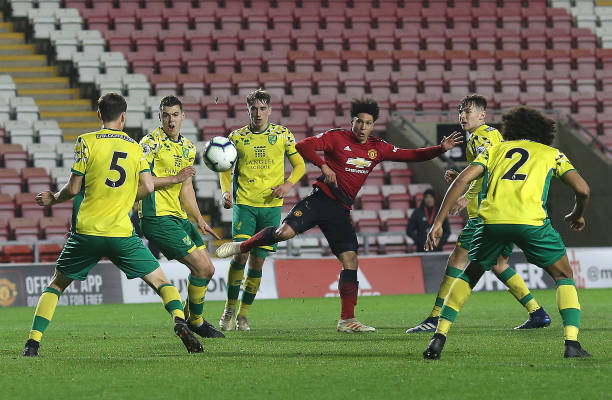 GBR: Manchester United v Norwich City: Premier League 2