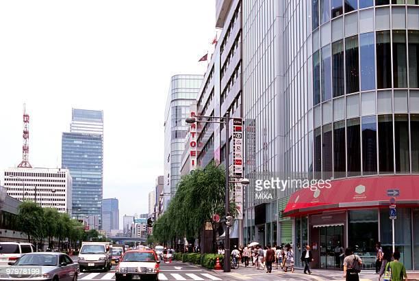 Nishiginza Street, Tokyo, Japan