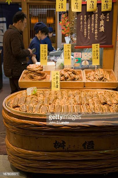 Nishiki Market is a narrow shopping street lined with more than one hundred shops Various kinds of fresh foods including many Kyoto specialties such...