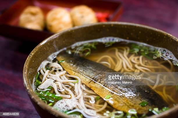 nishin soba - 蕎麦 ストックフォトと画像