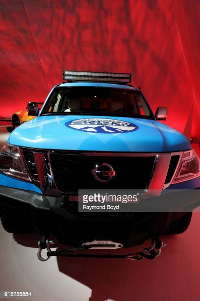 Nissan Armada is on display at the 110th Annual Chicago Auto Show at McCormick Place in Chicago Illinois on February 8 2018
