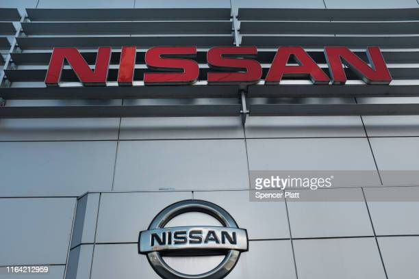 Nissan dealership stands in Brooklyn on July 25 2019 in New York City Hurt by a drop in auto sales and profits Nissan has announced that it plans to...