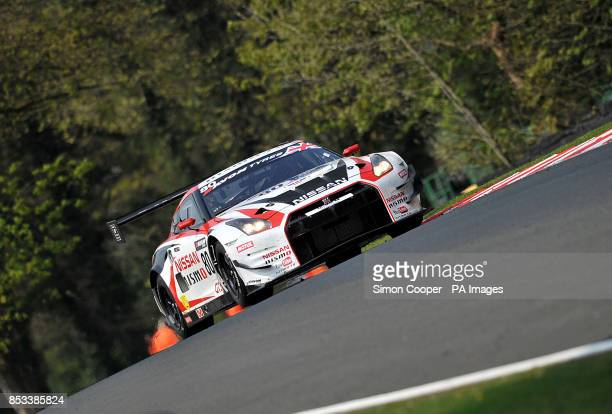 Nissan GT Academy Team's Sir Chris Hoy during Race One of the Avon Tyres British GT Championship at Oulton Park, Cheshire.