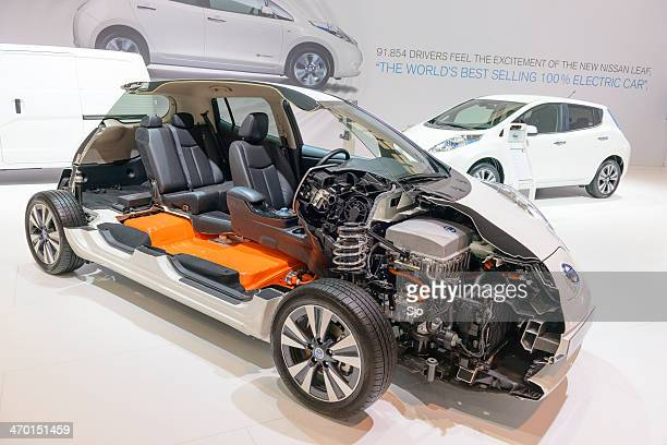 Nissan Leaf cross section
