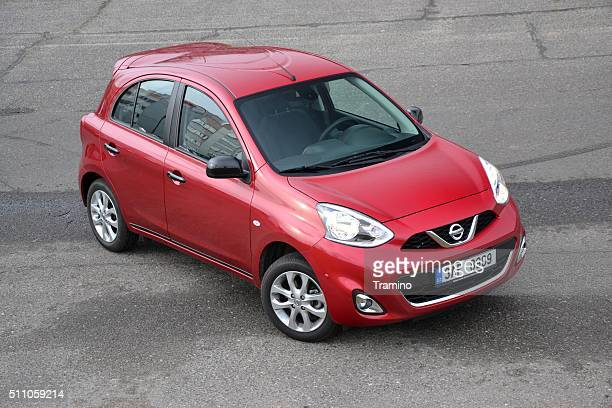 Nissan Micra on the street