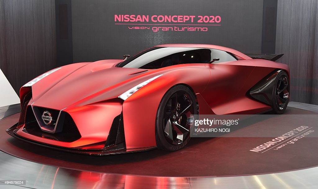 Nissan Motor displays the Nissan Concept 2020 Vision Gran ...