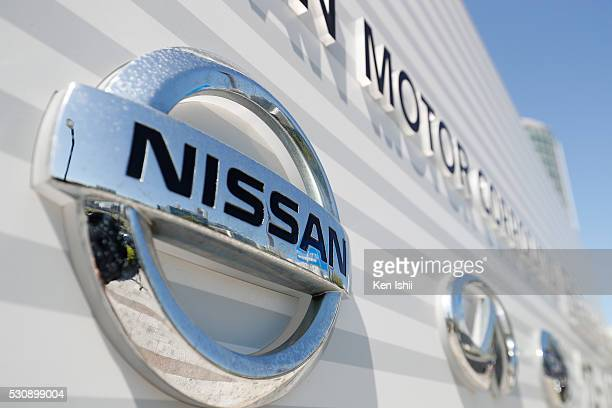 Nissan Motor's logo is seen on May 12 2016 in Tokyo Japan Japanese media reported that Nissan Motor confirmed that the two parties are in capital...