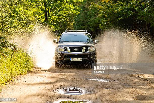 Nissan Navara in Aktion