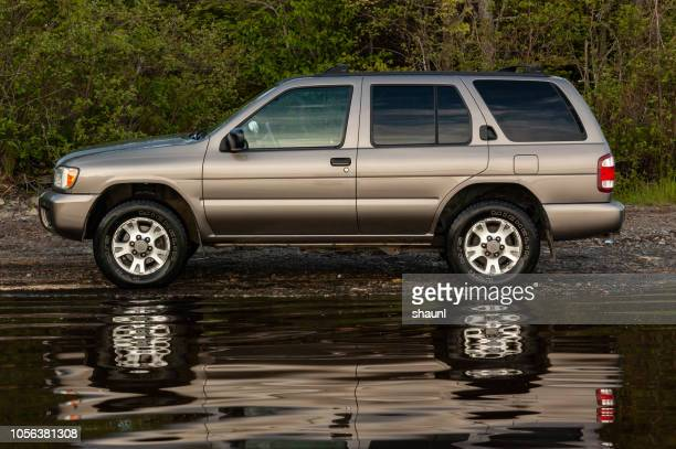nissan pathfinder - editorial stock pictures, royalty-free photos & images