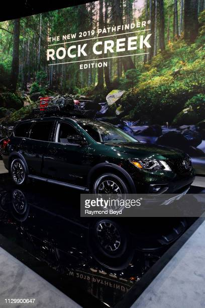 Nissan Pathfinder Rock Creek Edition is on display at the 111th Annual Chicago Auto Show at McCormick Place in Chicago, Illinois on February 7, 2019.