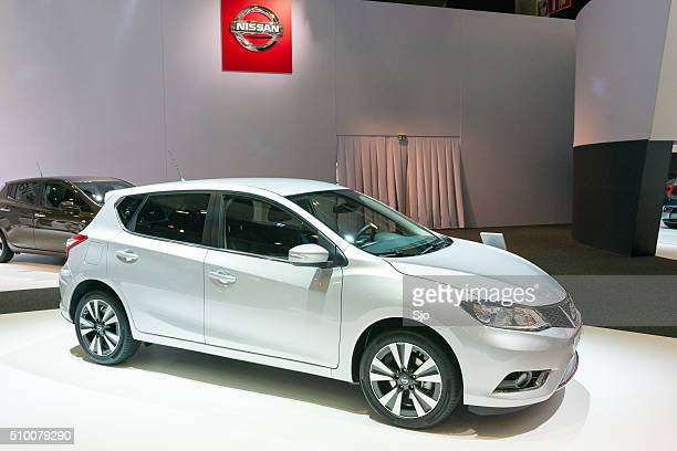 nissan pulsar hatchback car - 2016 stock pictures, royalty-free photos & images