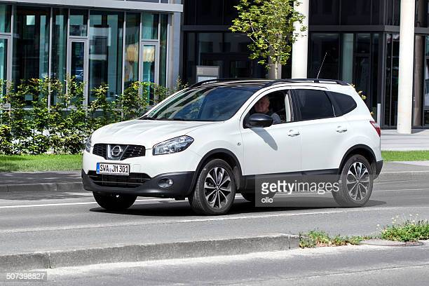 nissan qashqai - nissan qashqai stock pictures, royalty-free photos & images