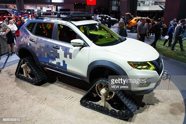 Nissan Rogue Is Displayed At The New York International Auto Show