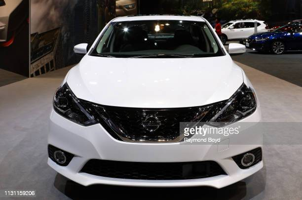 Nissan Sentra is on display at the 111th Annual Chicago Auto Show at McCormick Place in Chicago, Illinois on February 8, 2019.