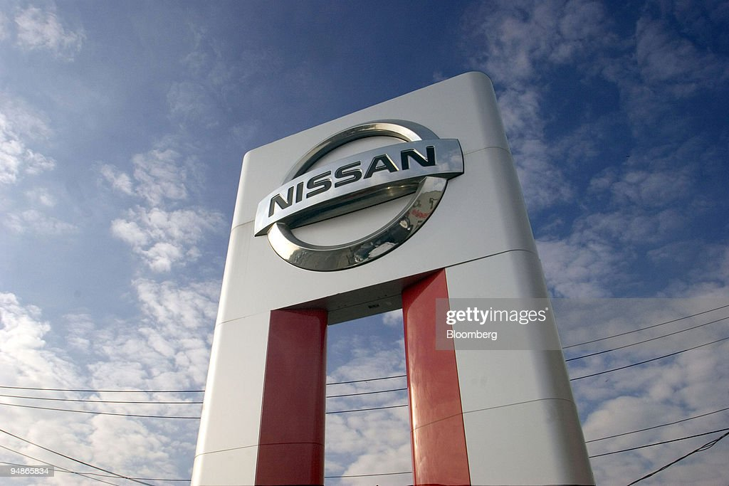 Perfect A Nissan Sign Sits At The Colonial Nissan In Medford, Massac