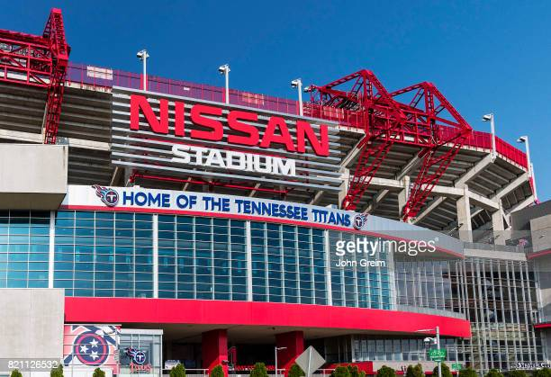 Nissan Stadium home of the Tennessee Titans