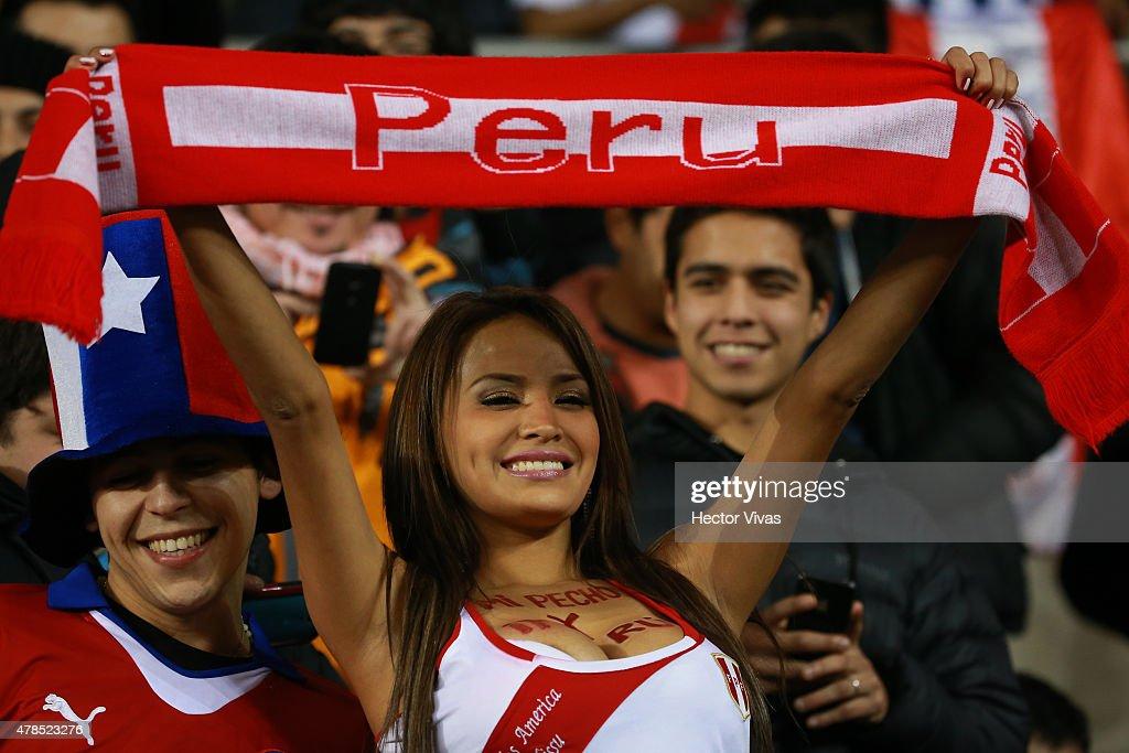 Bolivia v Peru: Quarter Final - 2015 Copa America Chile : News Photo