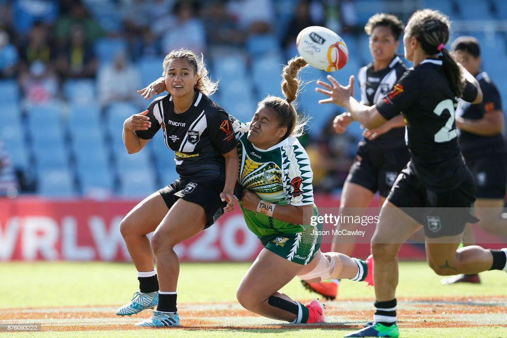 Women's Rugby League World Cup : News Photo