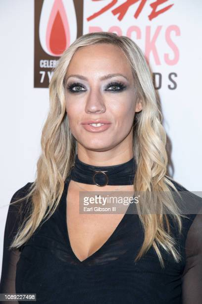 Nita Strauss attends the 7th Annual She Rocks Awards at House of Blues Anaheim on January 25, 2019 in Anaheim, California.