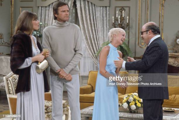 Nita Talbot Dick Sargent Sarah Kennedy Sorrell Booke appearing in the ABC tv series 'Honeymoon Suite'