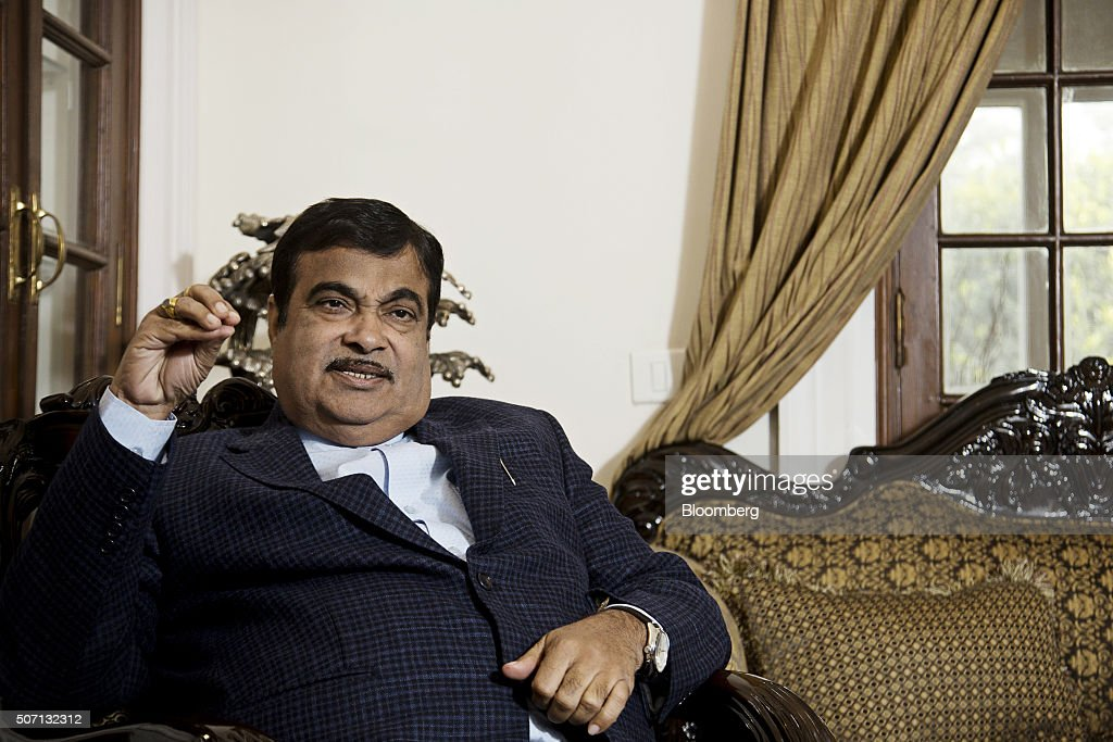 India's Road And Transport Minister Nitin Gadkari Interview