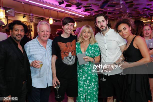 Nitin Ganatra Les Dennis Les Dennis Hannah Price Blake Harrison and Tala Gouveia attend the press night after party for 'End Of The Pier' at Park...