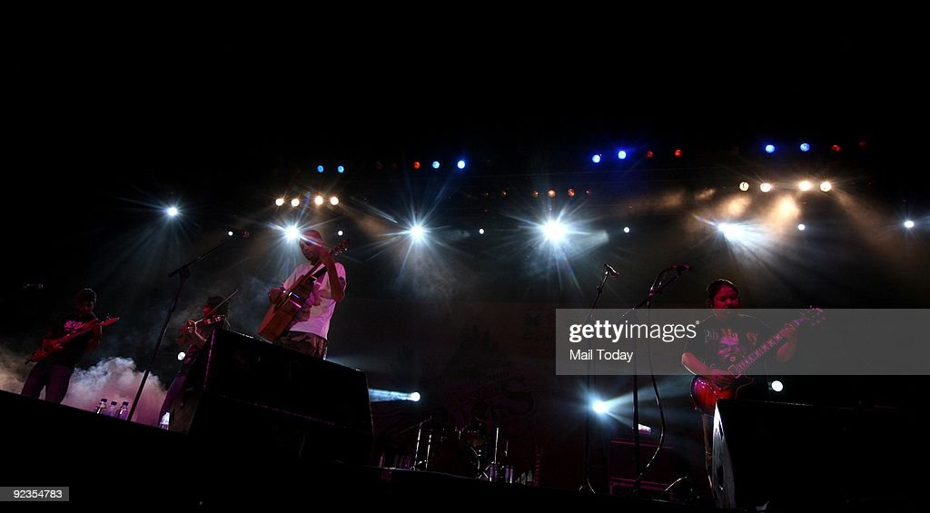 A star rock concert in delhi pictures getty images nitin malik of parikrama delivers a high voltage performance with other band members in at publicscrutiny Choice Image