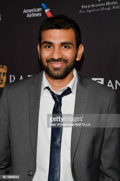 Nitish Kannan attends The BAFTA Los Angeles Tea Party at Four Seasons Hotel Los Angeles at Beverly Hills on January 6 2018 in Los Angeles California