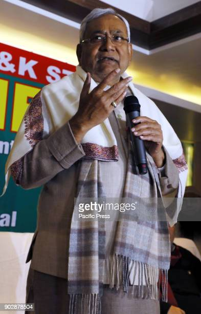 Nitish Kumar Indian politician from Janta Dal United visits today in Jammu