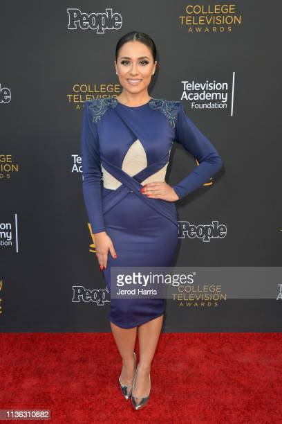 Nitzia Chama attends The Television Academy Foundation's 39th College Television Awards at Wolf Theatre on March 16 2019 in North Hollywood California